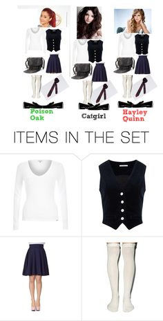 """""""Gotham Girls school outfits"""" by skylerstaristhebest ❤ liked on Polyvore featuring art"""