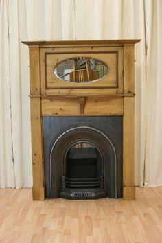 Salvo Edwardian Fireplace Surround - bedroom