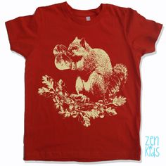 KIDS - Boxing SQUIRREL Tee Shirt - American Apparel Sizes 2 4 6 8 10 (3 Color Options) - FREE Shipping by ZenThreads on Etsy https://www.etsy.com/listing/199875917/kids-boxing-squirrel-tee-shirt-american
