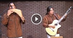 """Inka Gold, two brothers from the Pueblo Imbaya Native Community, perform this creative rendition of """"Unchained Melody."""""""