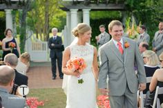 Kate and Mike's Wedding at Daniel Stowe Botanical Garden. Copyright Torrence Photography.