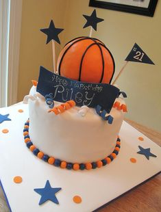 Basketball Cake | Flickr - Photo Sharing!