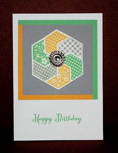 Six-Sided Sampler Birthday Card