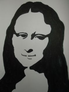 Drawing: MONA by Rodster ink on card stock 8.5X11
