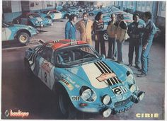 San Remo 1973 - Nicolas Jean-Pierre - Vial MicheliconAlpine-Renault A110 1800