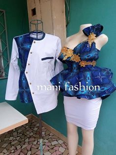 Couples African Outfits, African Dresses For Kids, African Prom Dresses, Latest African Fashion Dresses, African Print Fashion, African Attire, African Traditional Wear, Africans, Ankara