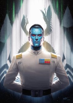 So, Timothy Zahn's new canon Thrawn book come's out today and this is my fanart of the Imperial Navy's finest, most brilliant tactical mind. Just in time for Star Wars Celebration 2017 too Hope you...