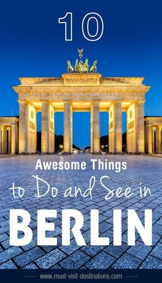10 Awesome Things to Do and See in Berlin #travel #berlin Berlin Winter, Travel Bugs, Places To Travel, Europe Travel Tips, Travel List, Travel Articles, European Travel, Budget Travel, Travel Destinations