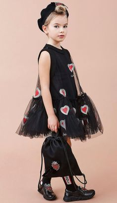 Must Have of the Day: Girls striking dresses by Mi Mi Sol - Kindermode Outfits Niños, Kids Outfits, Little Dresses, Little Girl Dresses, Little Girl Fashion, Kids Fashion, Baby Dress Design, Stylish Kids, Mode Inspiration