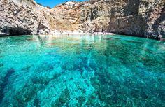 Milo island, Greece  | honeymoon destination @James Barnes Barnes Perez   Def think we should research this! It's gorgeous!