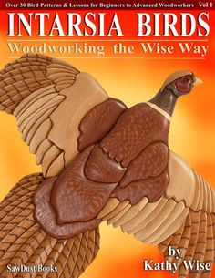 Great books by Kathy Wise to learn...oodles of intarsia wood project pictures and links to free patterns and tutorials!