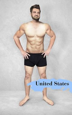 USA  18 Feb 2016 Revealed: how the 'ideal' male body changes around the world