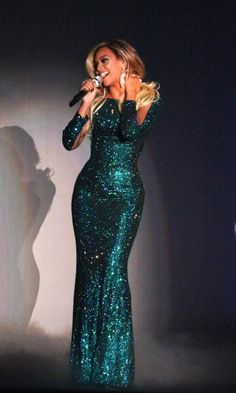 Beyoncé performs at The BRIT Awards 2014 at 02 Arena London 19.02.2014