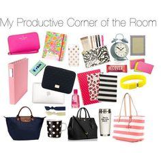 Dorm Inspiration: Desk Essentials, college school supplies