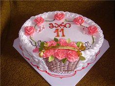 Школа кремовых тортов - Страница 15 - Торты и пирожные - Семейка