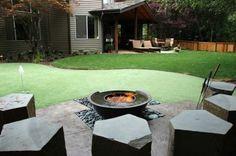 Backyard putting gre