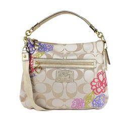 Coach Daisy Applique Bag..got it last weekend..it's simply gorgeous!!