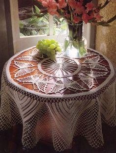 free pattern on website ;O)  crochet butterfly doily