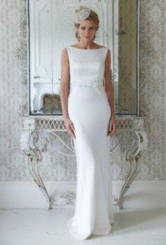 9278314f68b1d Image Straight Wedding Dresses