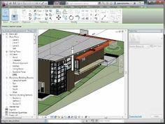 Revit Tutorials: BIM Bootcamp Sketch Up Architecture, Revit Architecture, Architecture Student, Architecture Portfolio, Architecture Diagrams, Architectural Presentation, Architectural Models, Architectural Drawings, Urban Furniture