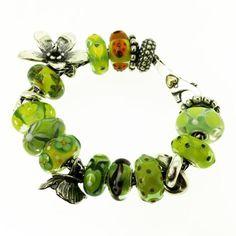 In Memory Of Paula Tilson Who Loved Lime Trollbeads!