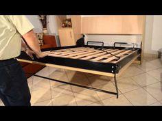 Video Cama Rebatible Plegable - YouTube Murphy Bunk Beds, Entryway Bench, Studio, Storage, Youtube, Furniture, Home Decor, Shelving Brackets, Wood Grill