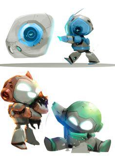 We robot.PC game on Behance