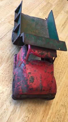 Metal Toys, Tin Toys, Rust Never Sleeps, Toy Trucks, Antique Toys, Urban Decay, Cast Iron, The Past, Antiques