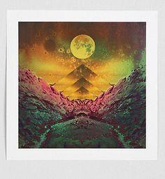 bohemianhomes:  Penabranca First Full Moon Art Print