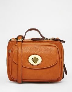 Image 1 of Street Level Triple Compartment Camera Style X Body Bag In Tan