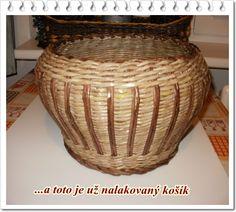 Basket - pot noticias tejer. - Tubos de periódicos Weaving - Artesanía de papel - Publisher - Rukodel.TV