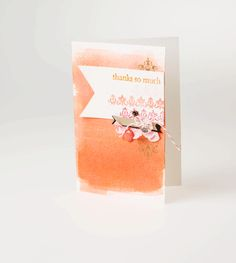 We're loving this beautiful card. Be sure to check out the inspiration that was used to create this pretty project!