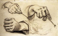 hands by v van gogh