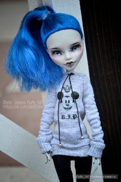 ООАК Monster High - Моя коллекция от RonnikBC (Насти Охановой) / Куклы My Scene, Monster High, Монстер Хай от Mattel / Бэйбики. Куклы фото. Одежда для кукол