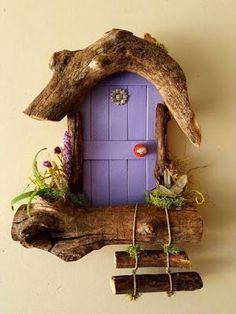 http: // www.sedonafairydo http: // www.sedonafairydo The post http: // www.sedonafairydo appeared first on Miniature Garden. Diy Fairy Door, Fairy Garden Doors, Fairy Garden Houses, Fairy Doors, Fairy Crafts, Garden Crafts, Home Crafts, Fairy Tree, Driftwood Crafts