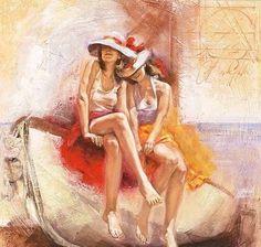 Talantbek Chekirov   pintor figurativo russo   1971