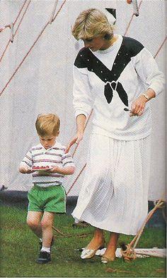 Polo Match à  Windsor _ 14 juin 1987