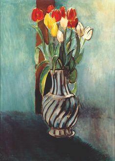 Me, Myself & Stendhal-Vase of Tulips, Henri Matisse 1914