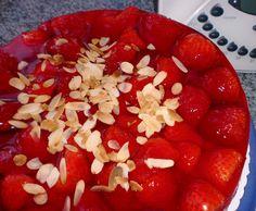 Erdbeerkuchen Erdbeertorte Biskuit torte