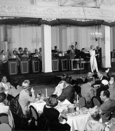 Kay Thompson at the Venetian Room, Fairmont Hotel, 1954