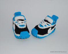 Babyschuhe stricken, Neugeborenes, blaue Pantoffeln, Boy, Nike Tennis Schuhe, Baby-Geschenk, Kleinkind Babys Gehäkelte Babyschuhe, Sie sind perfekt für jede kleine Füße Ohne Gefahr für sein Baby eng oder gedämpft. Eine tolle Wahl für erste Obavka Ihres Babys oder einfach ein