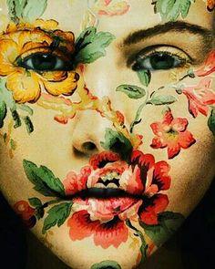 Floral! #floral #facepaint