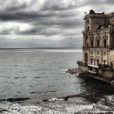 The house on the sea...