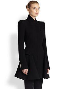 Alexander McQueen - Wool Coat Dress