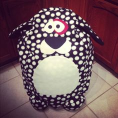 Bean bag chair I made! :) #dog #crafts #sewing