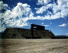 "Complex One, Central Eastern Nevada ""City"" by Michael Heizer"