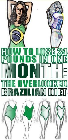 How to Lose 24 Pounds In One Month: The Overlooked Brazilian DietThe Brazilian diet is one of the most overlooked meal plans nowadays, which many people don't know about yet it offers magnificent results in a short . Workout To Lose Weight Fast, Diet Plans To Lose Weight Fast, Lose Weight In A Week, Need To Lose Weight, Yoga For Weight Loss, Losing Weight Tips, Loose Weight, Brazilian Diet, Weight Loss Before