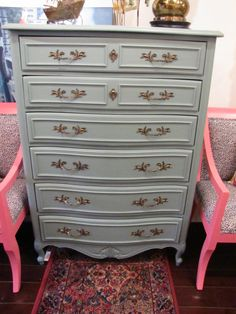 French Provincial Tall Dresser $575 - Chicago http://furnishly.com/french-provincial-tall-dresser.html