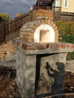Lyford Wood Fired Brick Pizza Oven in California - BrickWood Ovens Pizza Oven Kits, Diy Pizza Oven, Four A Pizza, Wood Fired Pizza, Firewood, Brick, Outdoor Kitchens, Ovens, Outdoor Decor