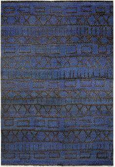 Anonymous; Wool Pile Rug, c1920.
